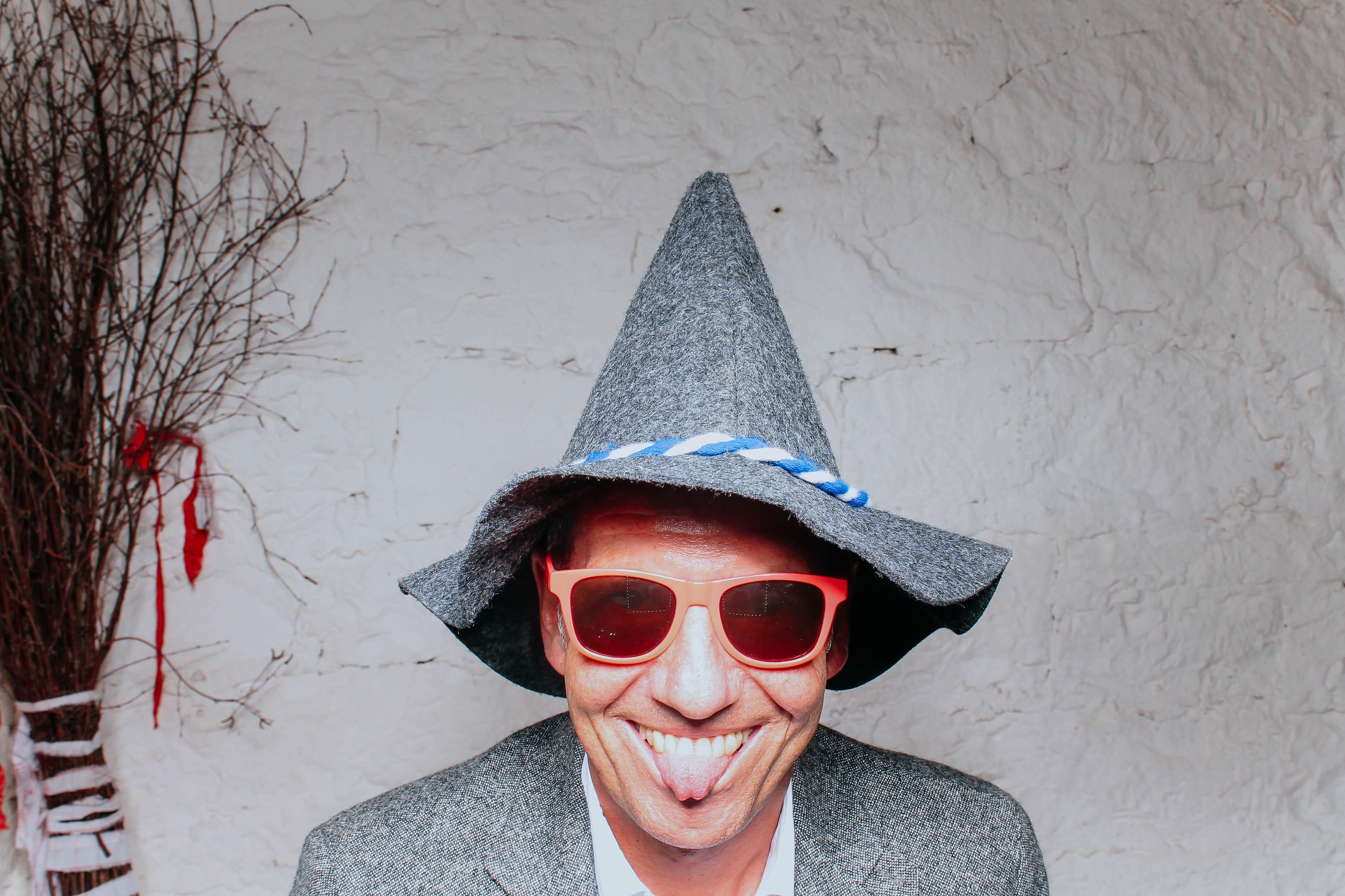 Bernd Nagel mit Hut